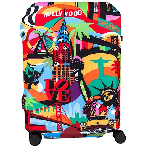 Чехол для чемодана BG Berlin Lobo America L, фото