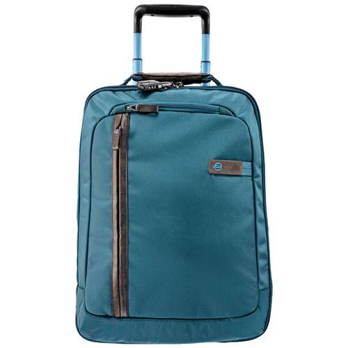 Дорожная сумка Piquadro с тележкой Nimble бирюзовая, фото