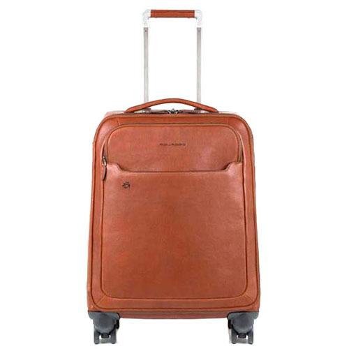 Коричневый чемодан Piquadro Blue Square 55х40х20см, фото