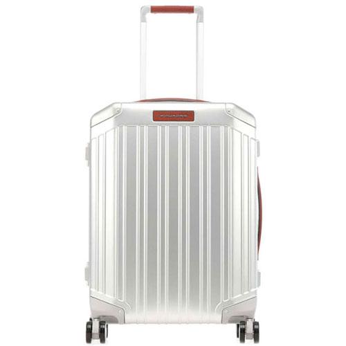 Чемодан Piquadro Alu 55х40х20см серебристого цвета, фото