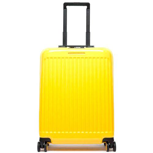 Чемодан Piquadro Seeker 55х40х20см желтого цвета, фото