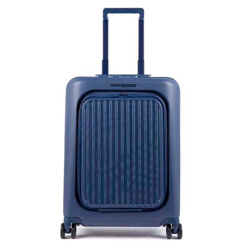 Чемодан Piquadro Seeker 55х40х24см синего цвета, фото