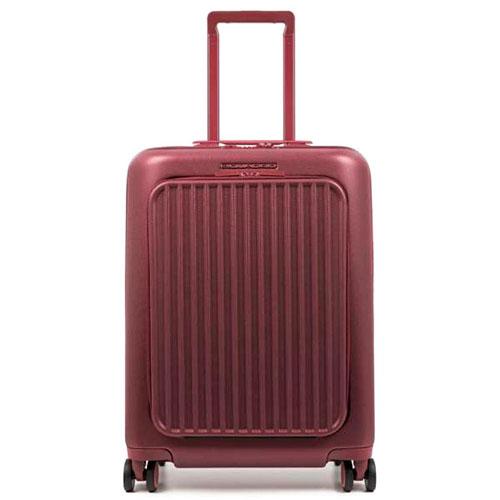 Чемодан Piquadro Seeker 55х40х24см красного цвета, фото