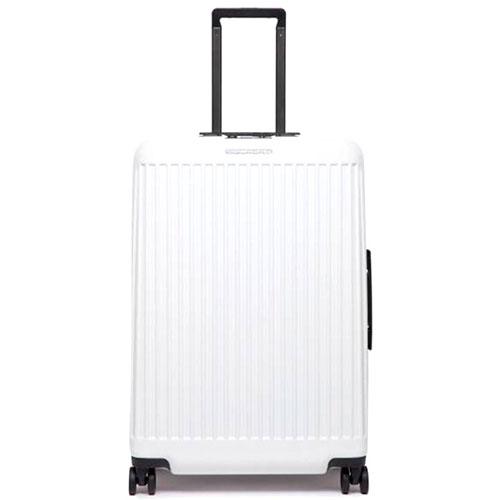 Чемодан Piquadro Seeker 69х46х27см белого цвета, фото