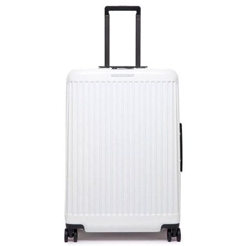 Чемодан Piquadro Seeker 75х51х28см белого цвета, фото