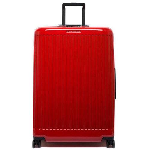 Чемодан Piquadro Seeker 75х51х28см красного цвета, фото