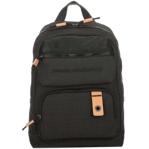 Черный рюкзак Piquadro Blade из текстиля, фото