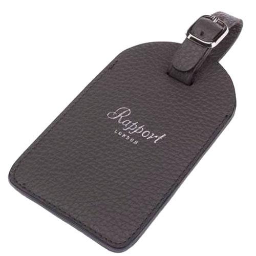 Багажная бирка Rapport серого цвета, фото