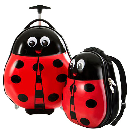Чемодан и рюкзак Heys Travel Tots Lady Bug для детей, фото