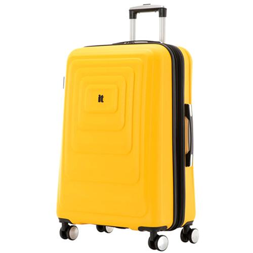 Желтый чемодан IT Luggage Mesmerize Old Gold 81х55х34см, фото