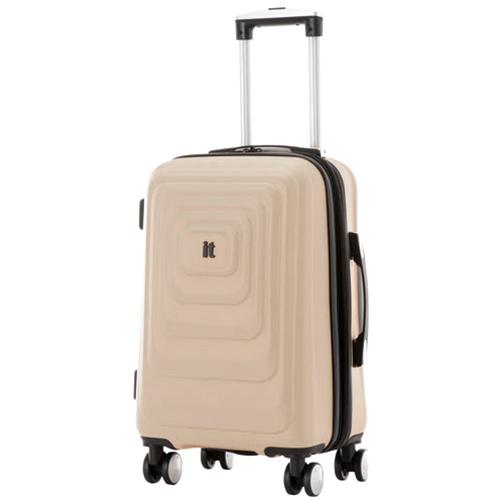 Бежевый чемодан IT Luggage Mesmerize Cream 55х36х26см, фото