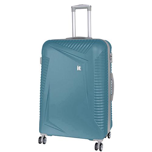Голубой чемодан IT Luggage Outlook Bayou 81х55х34см, фото