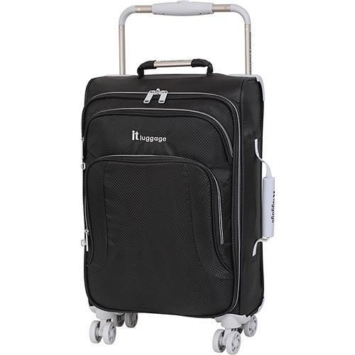 Черный чемодан IT Luggage New York Raven 58х34х20см, фото