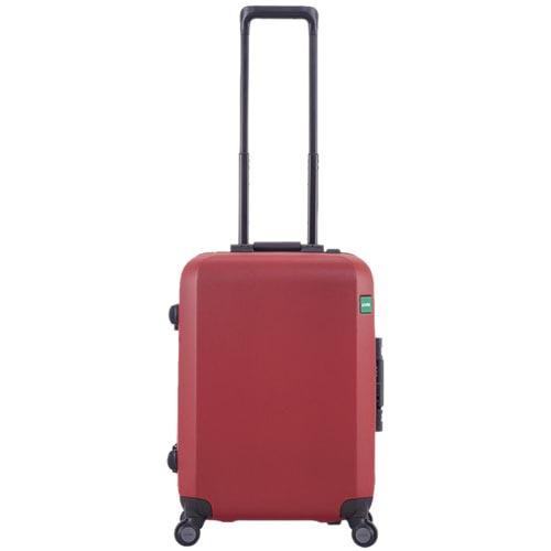 Красный чемодан 40х54,2х23см Lojel Rando маленького размера с текстурой против царапин, фото