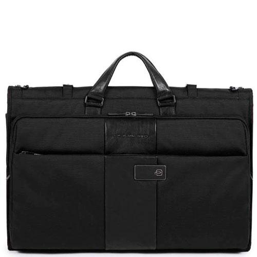 Портплед Piquadro Brief для одежды черного цвета, фото