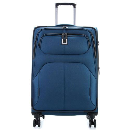 Средний чемодан 42x68x28-32см Titan Nonstop синий, фото