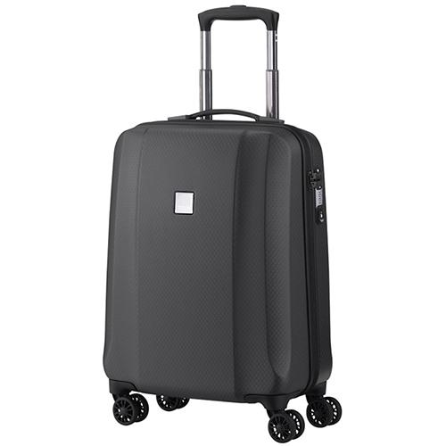 Серый чемодан 55х38х20см Titan Xenon Deluxe выполнен в сером цвете, фото