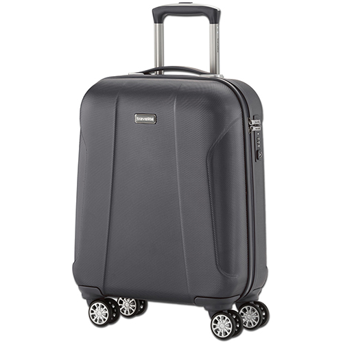 Маленький чемодан 55x40х20см Travelite Elbe Two с выдвижной ручкой, фото