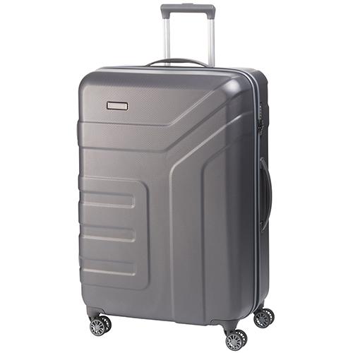 Большой чемодан 77x51х28см Travelite Vector в благородном оттенке антрацита, фото
