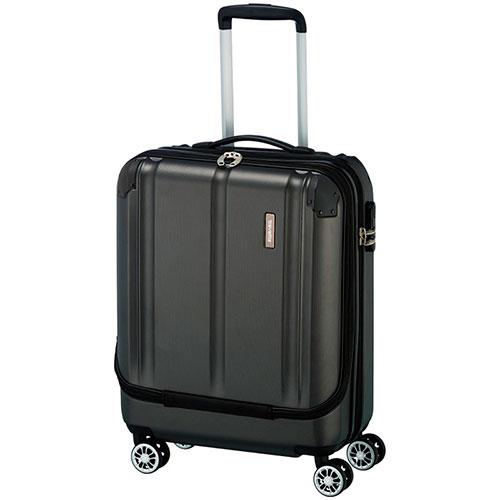 Маленький чемодан Travelite City черного цвета 40x55x20см, фото