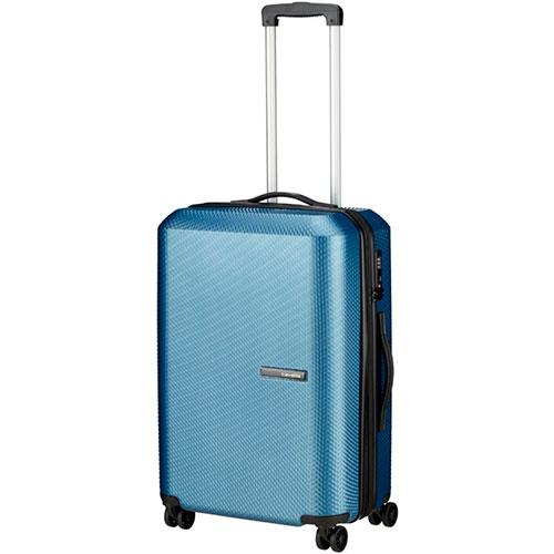 Чемодан большой Travelite Skywalk синего цвета 44x66x29/33см, фото