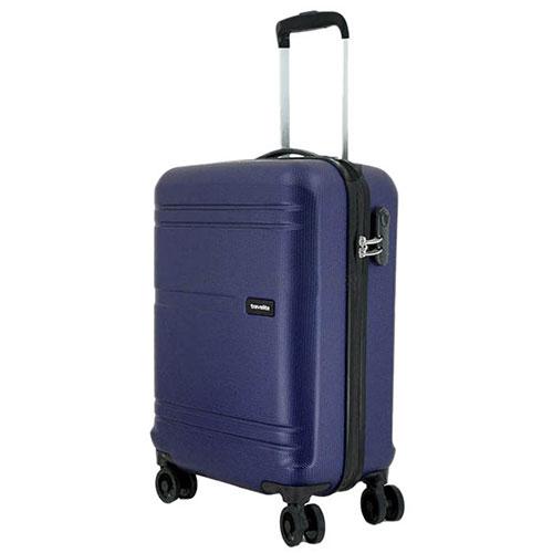 Маленький чемодан 38x55x20см Travelite Yamba 8w синего цвета, фото