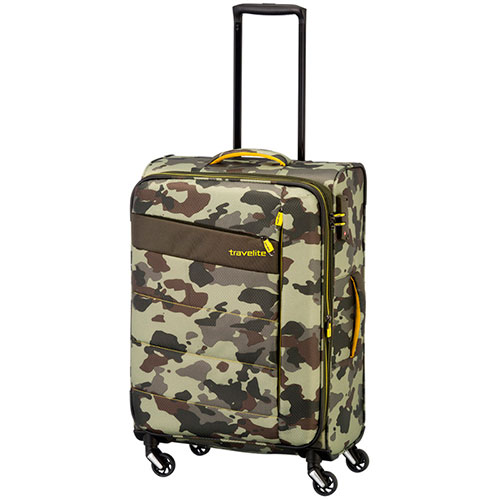 Средний чемодан Travelite Kite  42x64x27/31см на колесах, фото