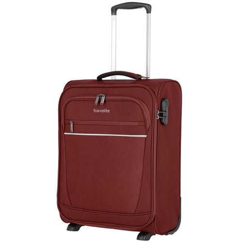 Маленький чемодан 40x55x20см Travelite Cabin бордового цвета, фото