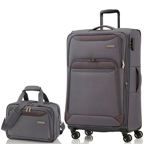 Чемодан большой Travelite Kendo  47x77x30/34см с сумкой, фото