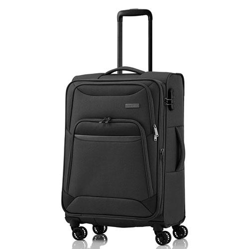 Черный чемодан Travelite Kendo 42x66x26/30см, фото