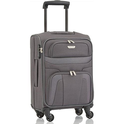 Маленький чемодан 36x54x20см Travelite Orlando серого цвета, фото