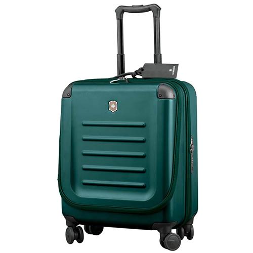 Зеленый бизнес-кейс 55х38х20см Victorinox Spectra 2.0 размера ручной клади, фото