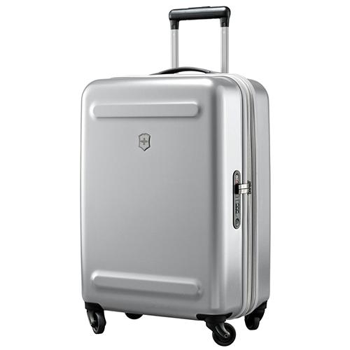 Маленький чемодан 60х40х25-28см Victorinox Etherius серого цвета, фото