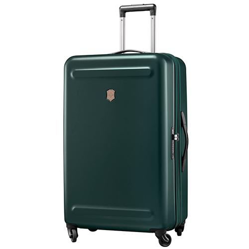 Большой чемодан 75х47х31-35см Victorinox Etherius Evergreen с корпусом зеленого цвета, фото