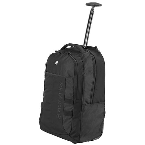 Рюкзак на колесах Victorinox Vx Sport Wheeled Cadet черного цвета, фото