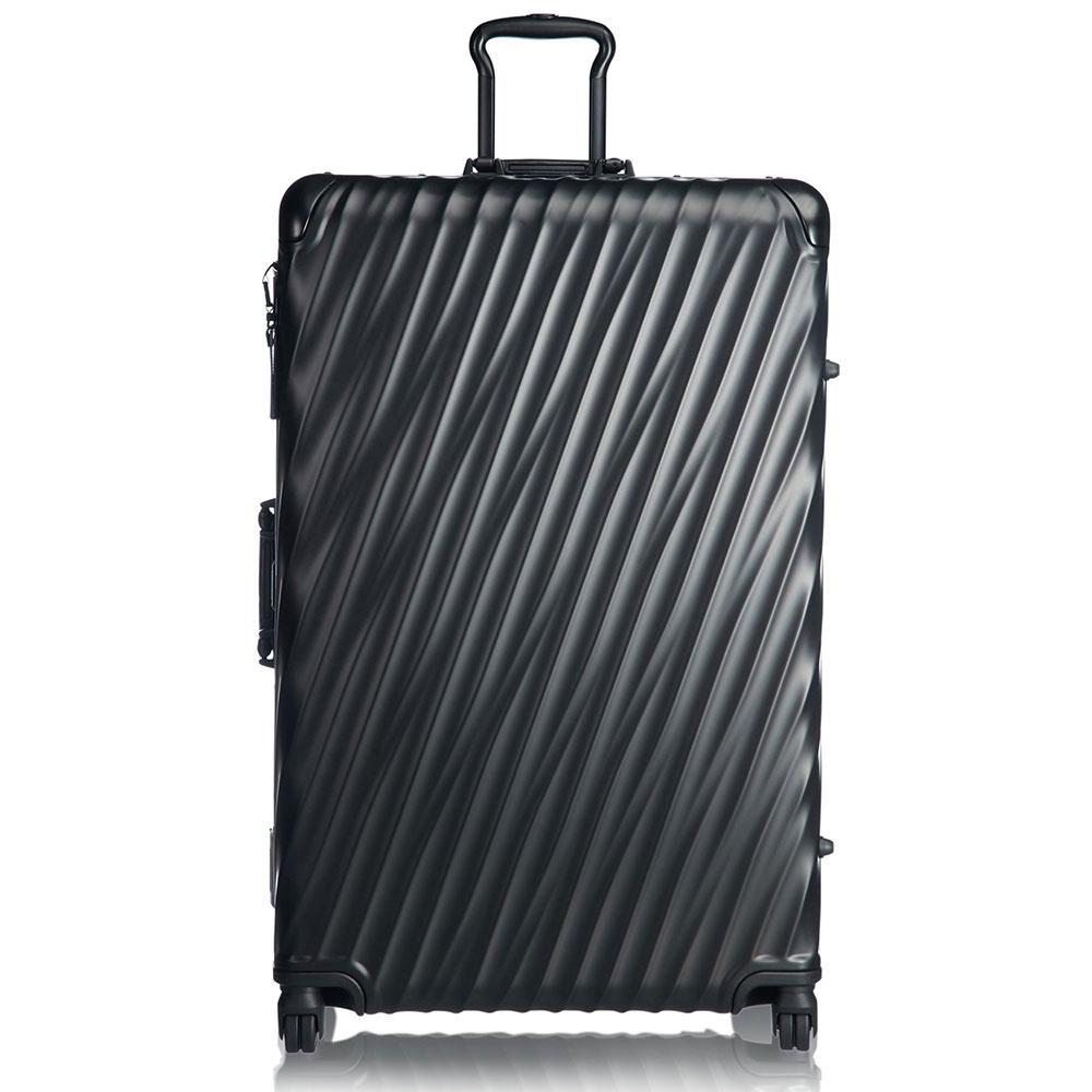 Черный чемодан Tumi 19 Degree Aluminum Matte Black Worldwide 86,5х56х32см