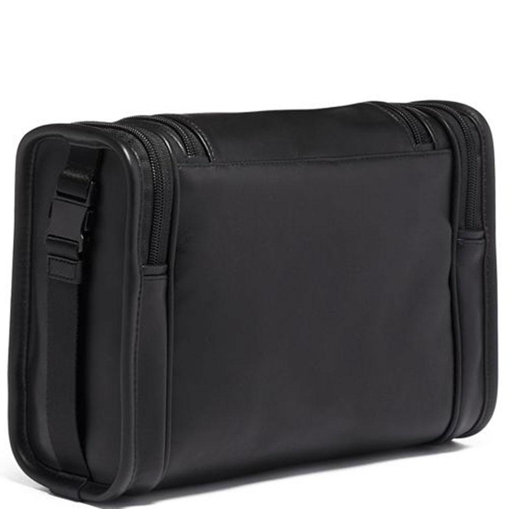 Черный несессер Tumi Alpha 3 Hanging Travel Kit