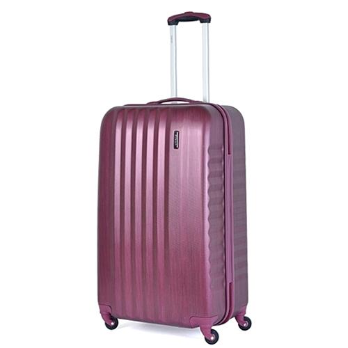 Набор чемоданов March Ribbon с корпусом цвета бургунди