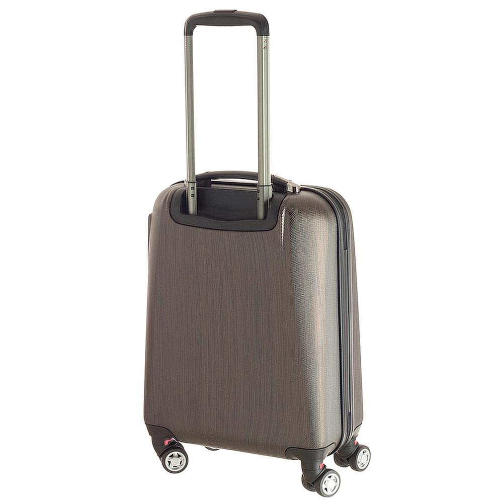 Маленький чемодан 55х35х20см March New Carat бронзового цвета для путешествий