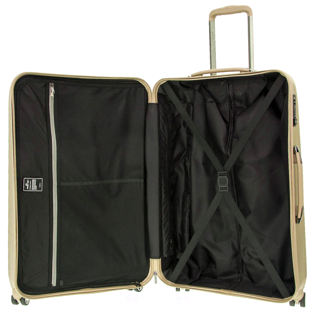 Набор чемоданов March New Carat для путешествий в золотом цвете