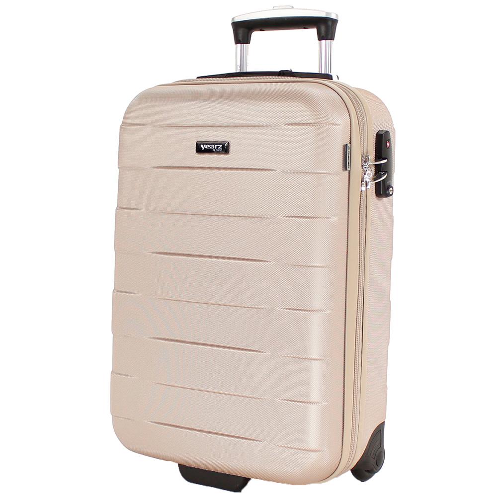 Набор чемоданов March Bumper с корпусом бежевого цвета