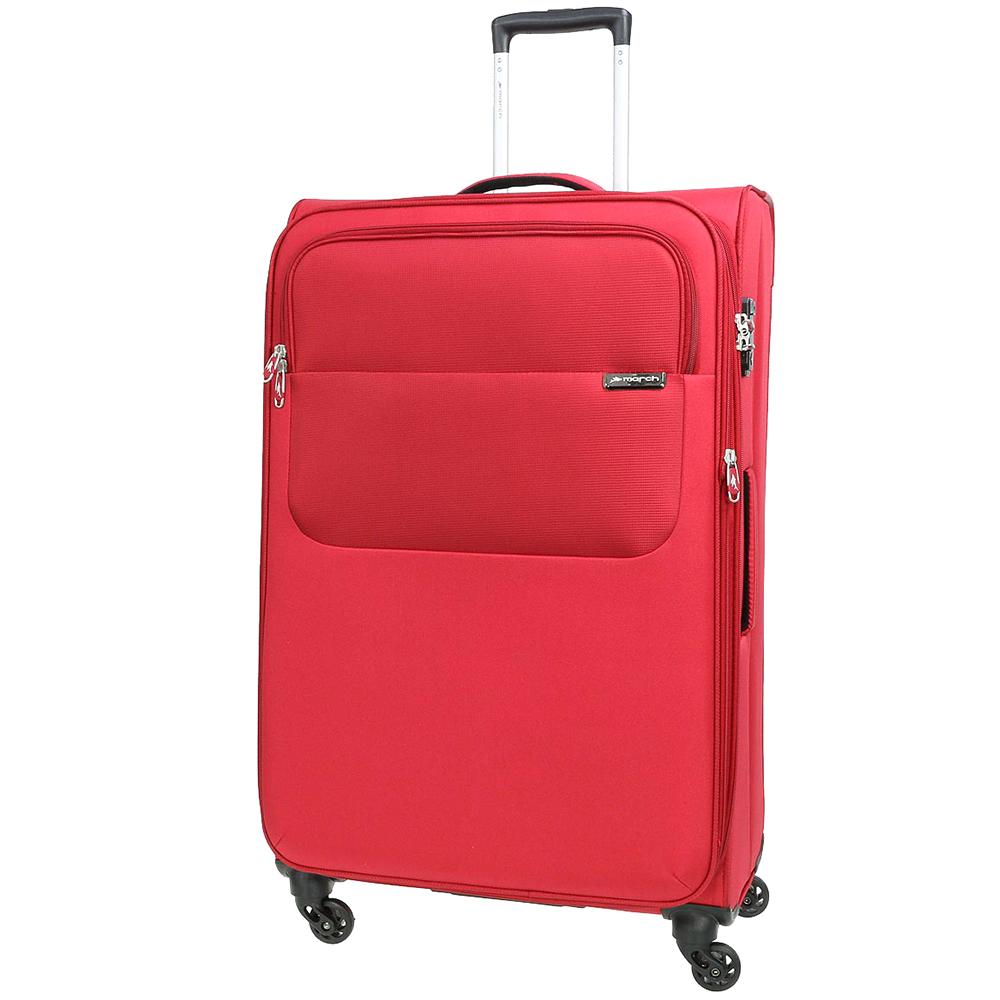 Красный чемодан 77х30х47см March Carter SE большого размера с функцией расширения
