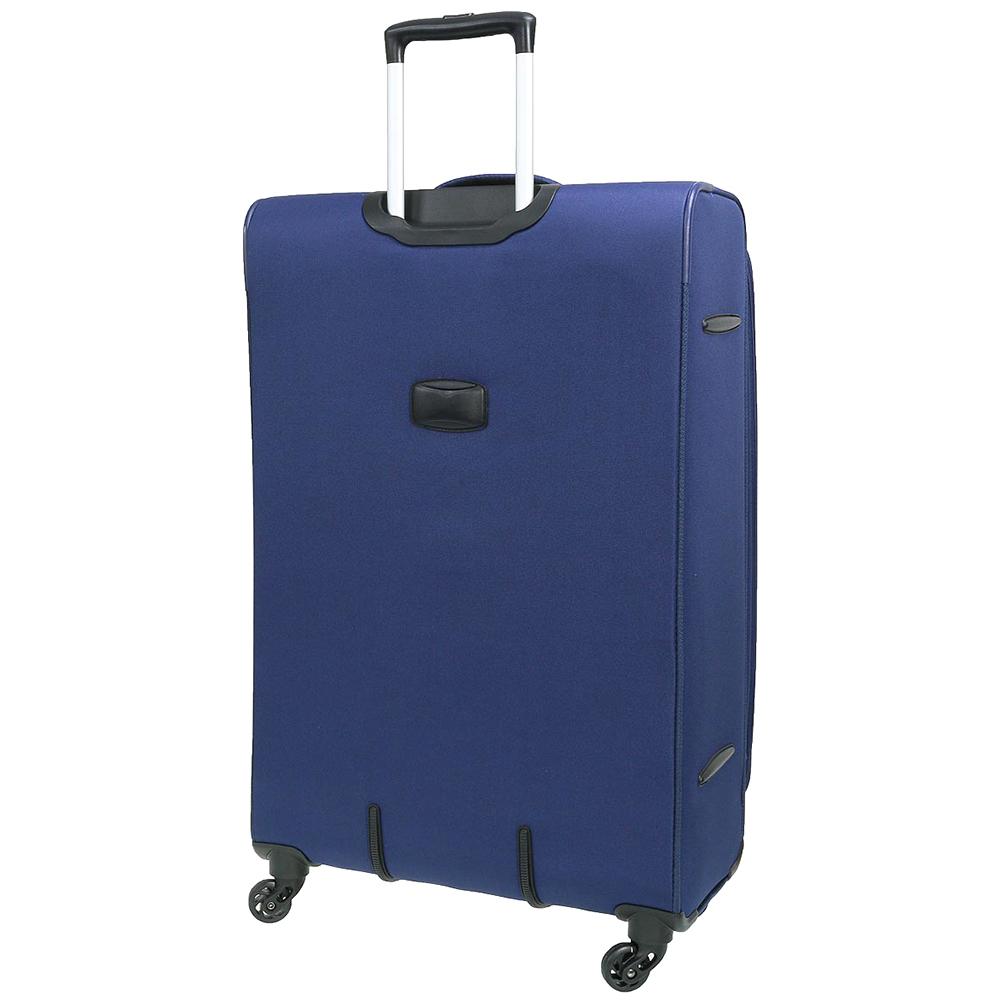 Чемодан синего цвета 67x42x27см March Carter SE среднего размера для путешествий