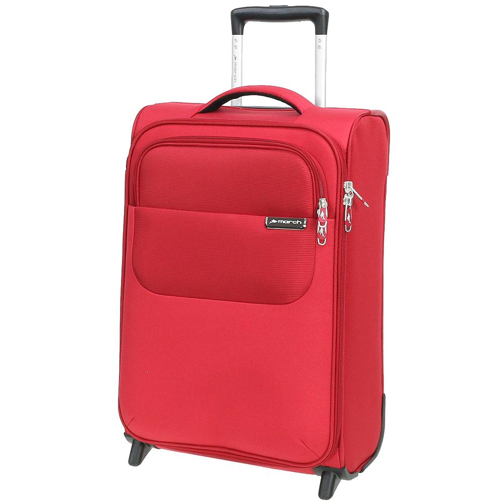 Набор чемоданов красного цвета March Carter SE для путешествий