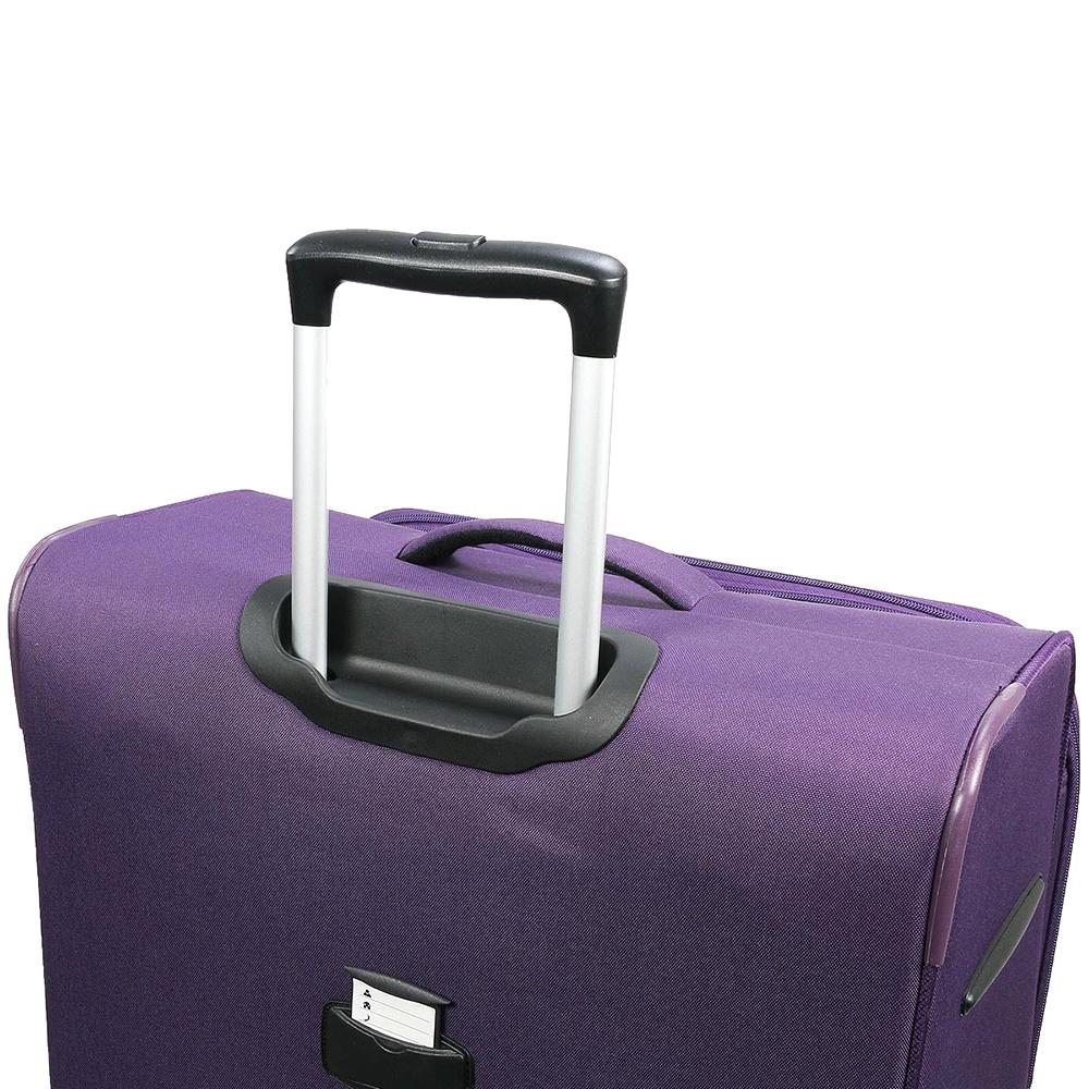 Набор чемоданов March Carter SE фиолетового цвета с замком блокировки TSA