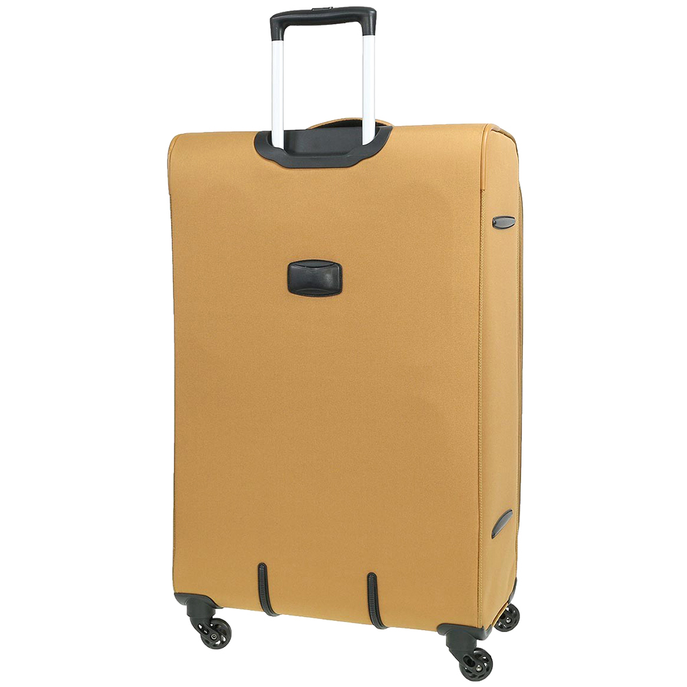 Набор чемоданов March Carter SE золотого цвета на молнии