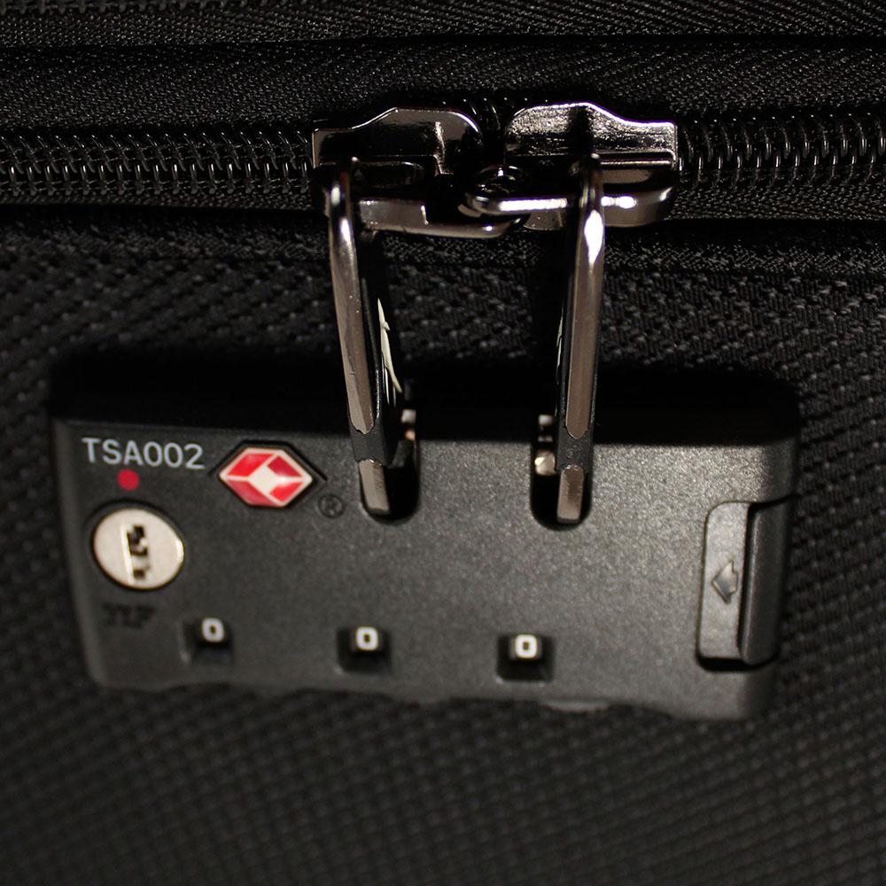 Набор чемоданов черного цвета March Flybird с 4х колесной системой