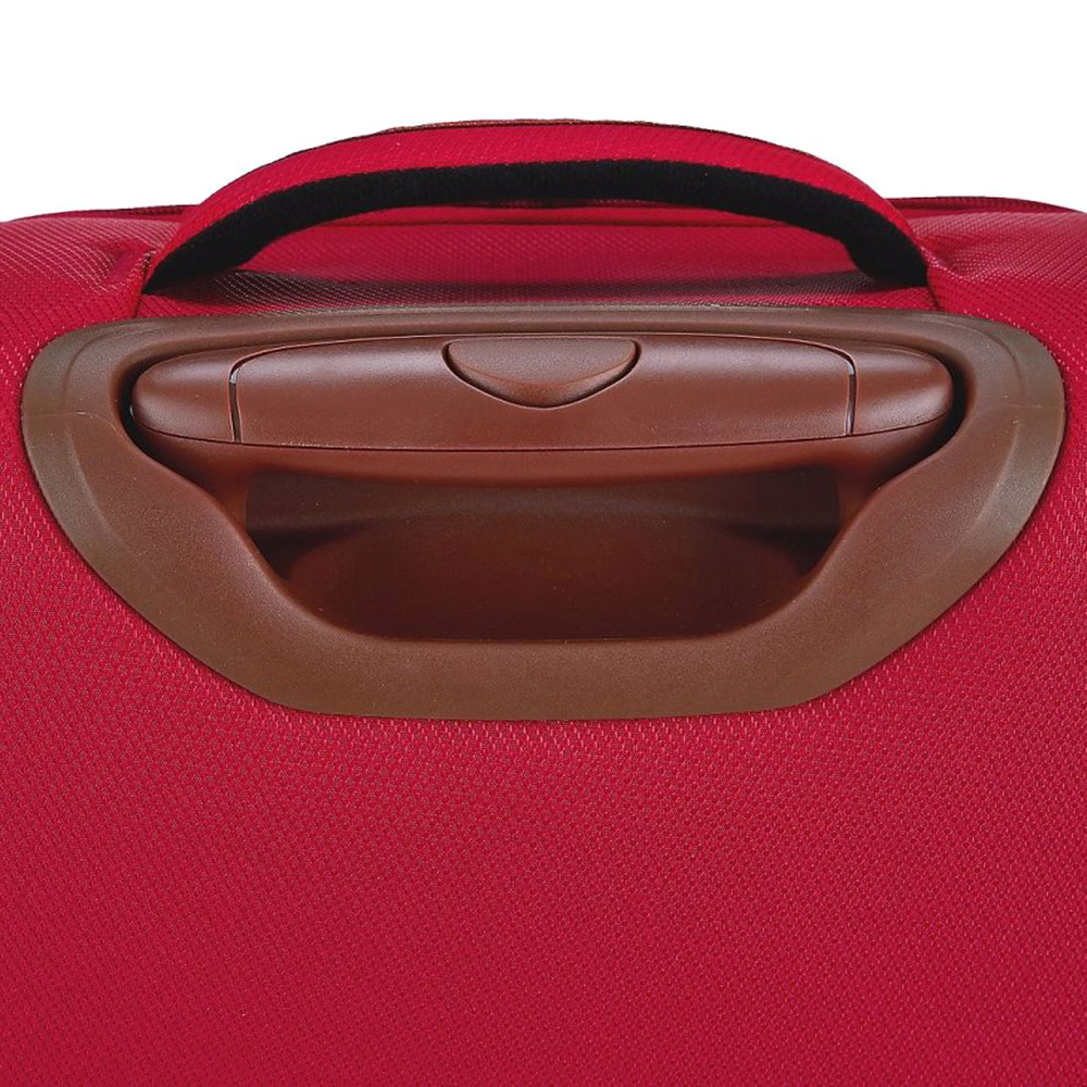 Набор чемоданов March Flybird с корпусом красного цвета из нейлона