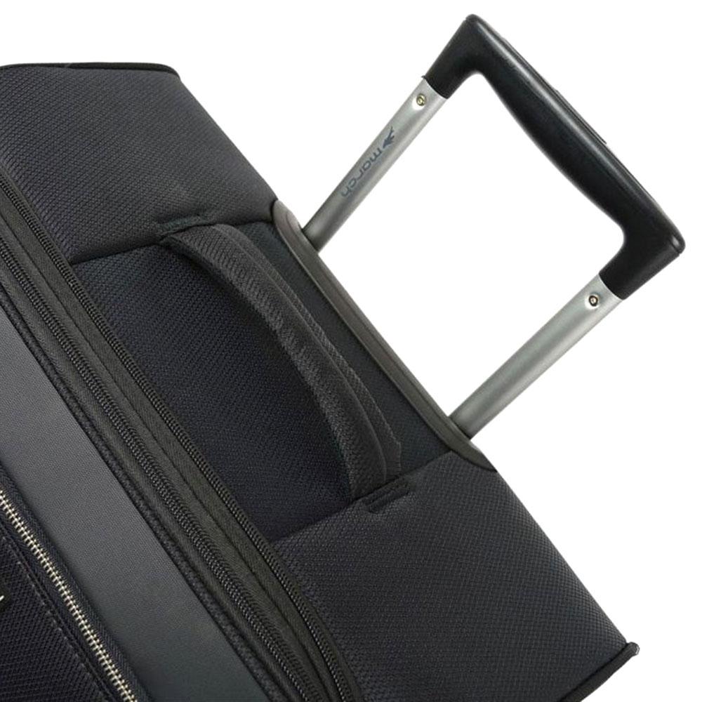 Чемодан черного цвета 67x42x26см March Flybird среднего размера с замком блокировки TSA