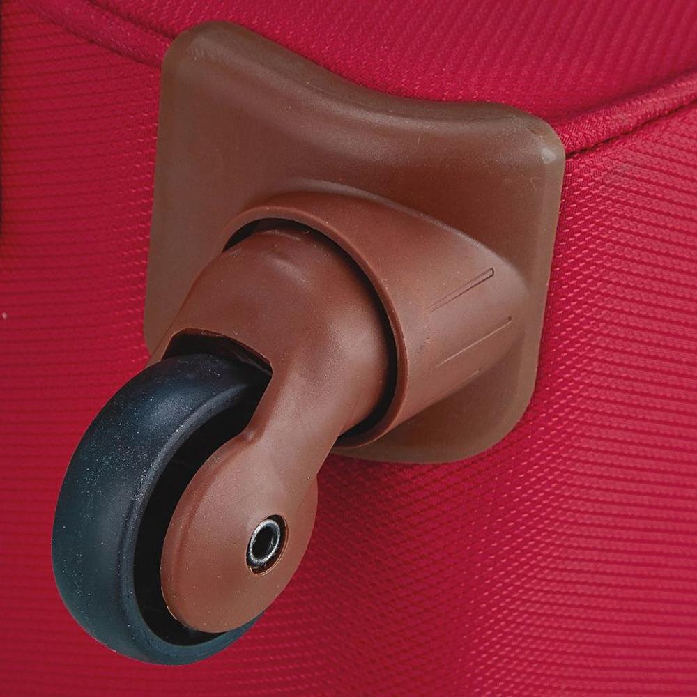 Чемодан красного цвета 55х35х20см March Flybird размера ручной клади